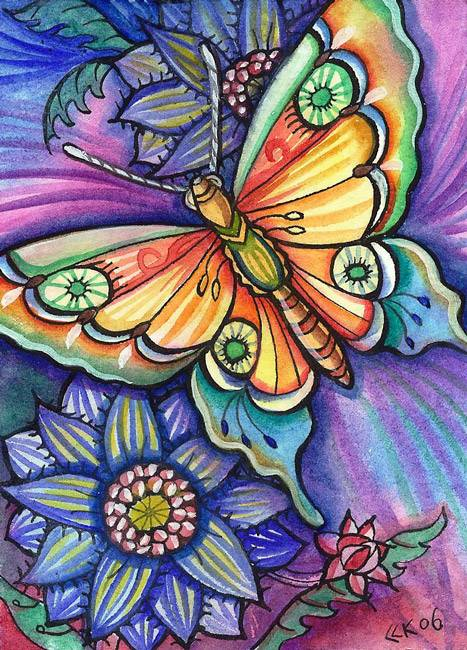 Butterfly designs for glass painting - photo#40