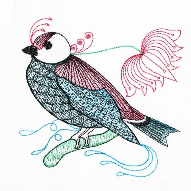 Bfc decorative elements series filled birds