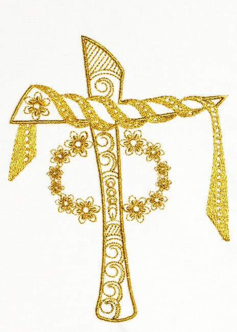 BFC1238 Goldwork Crosses