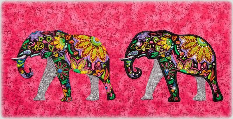 Bfc embellished elephants and friends