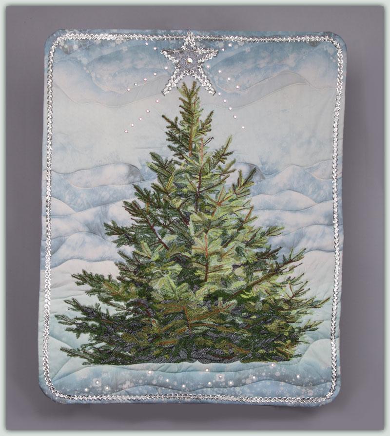Large Christmas Tree: BFC1325 Large Christmas Tree 2013 Thread Kit