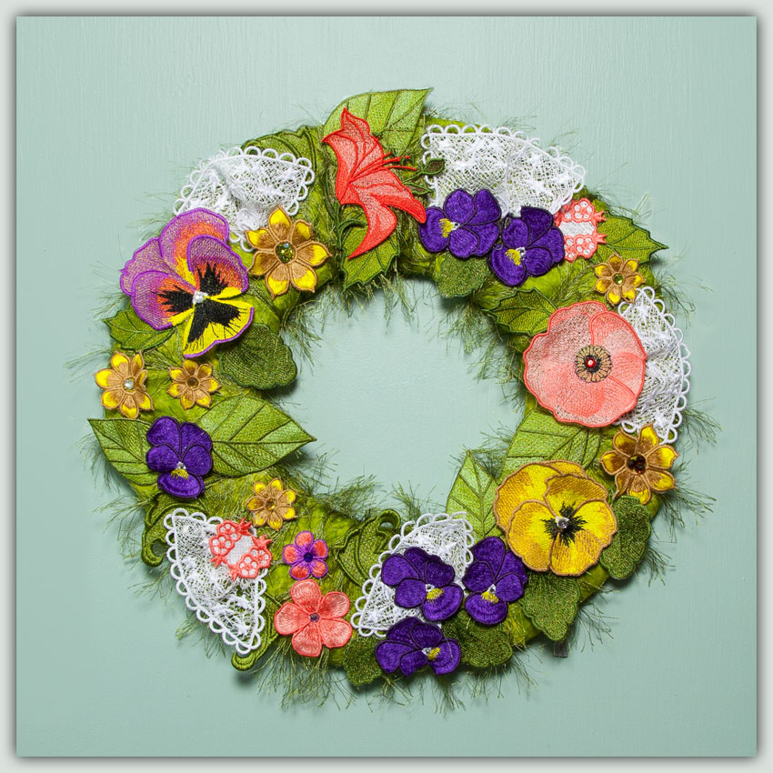 Bfc fsl floral wreath or centerpiece