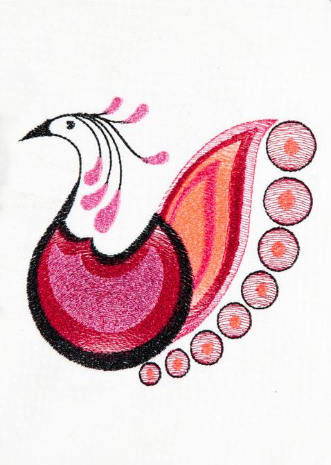Bfc decorative peacocks