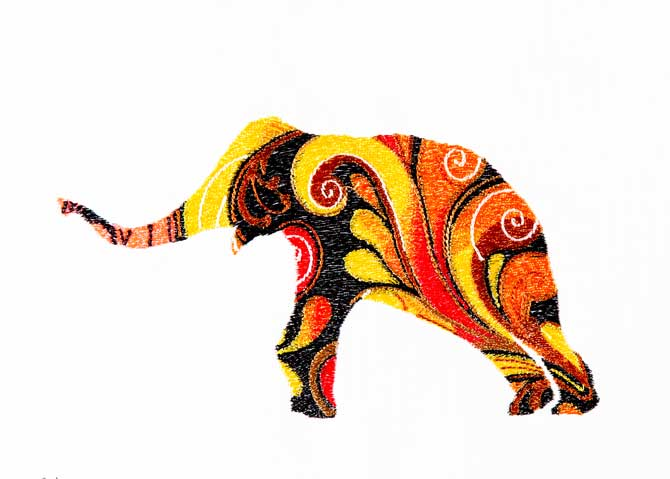 Bfc decorative elephants