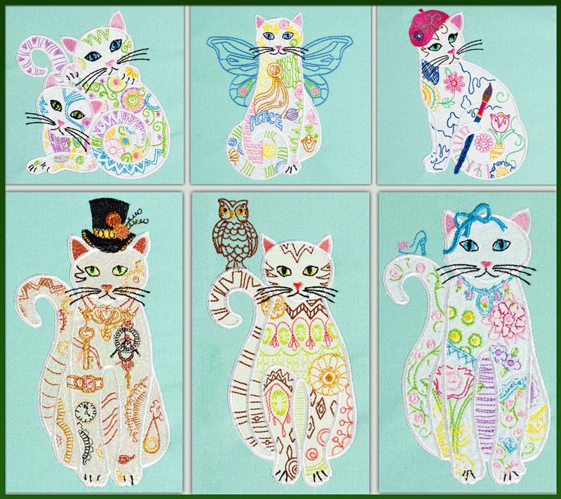 Bfc applique or not adorable felines