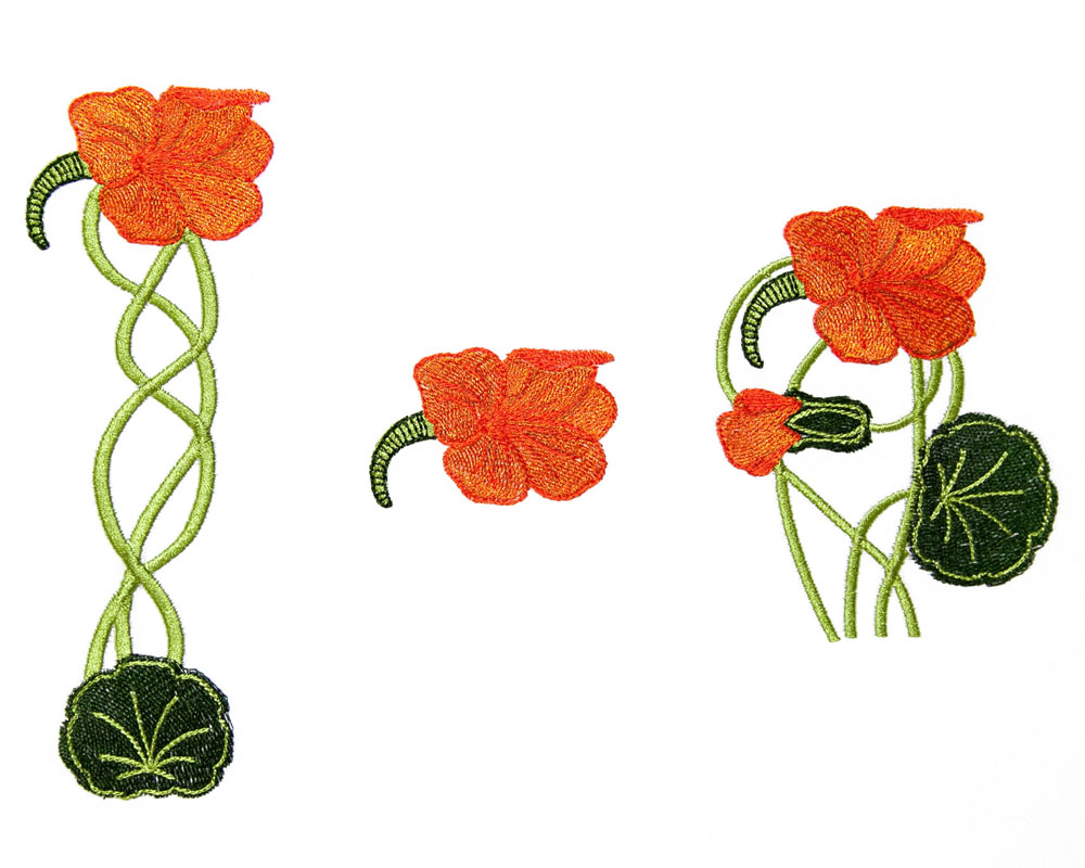 bfc1590 art nouveau floral motifs. Black Bedroom Furniture Sets. Home Design Ideas