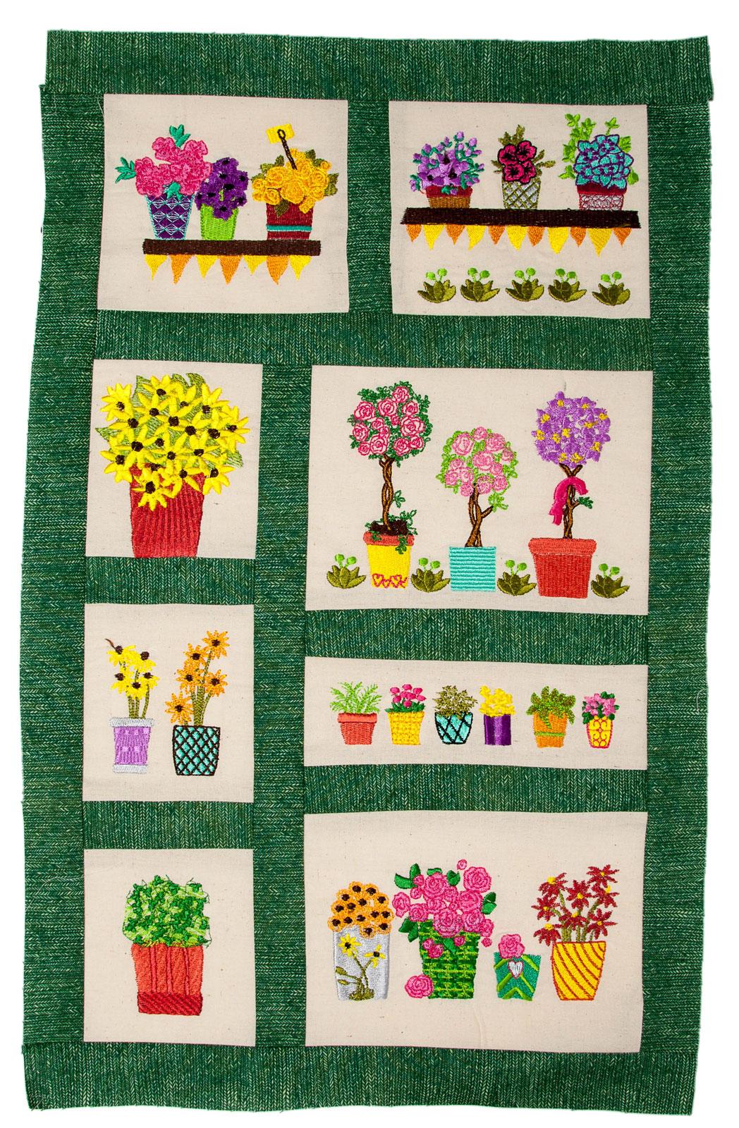 Bfc gardening quilt collection thread kit
