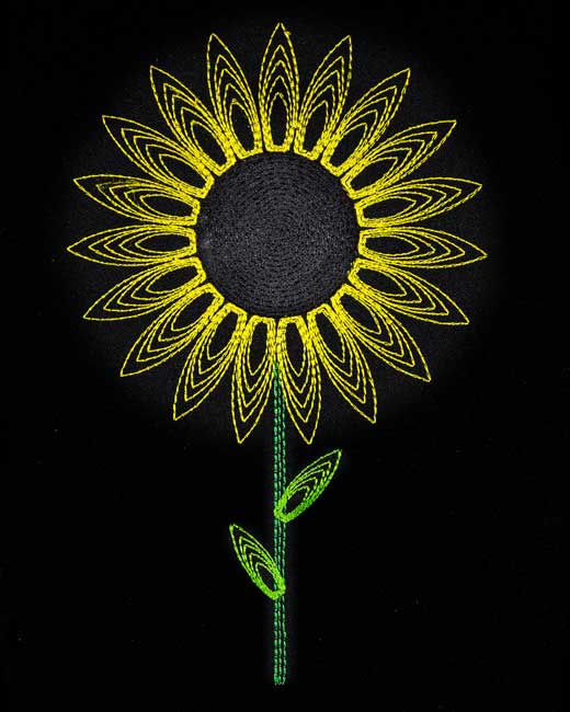 string art sunflower. Black Bedroom Furniture Sets. Home Design Ideas