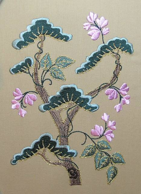 BFC0396 Japanese Embroidery