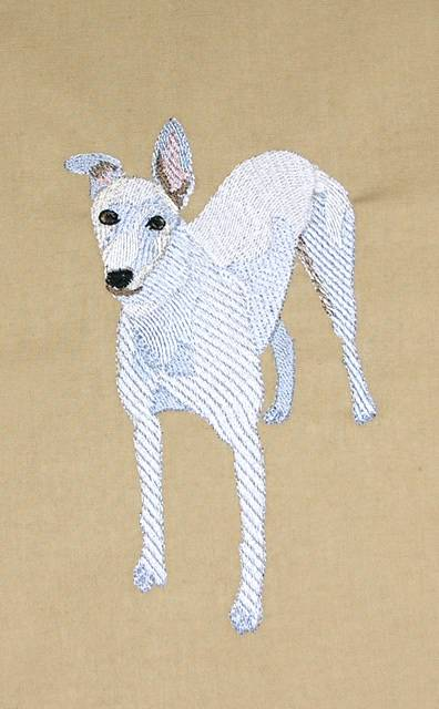 Greyhound Machine Embroidery Designs | Makaroka.com