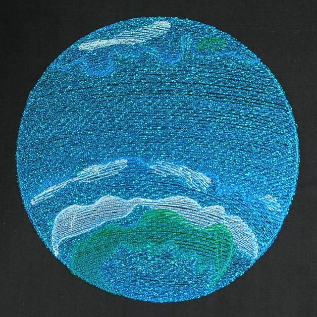 Bfc0576 solar system for Solar system fleece fabric
