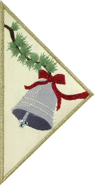BFC0592 Quilt in the Hoop Christmas Stocking II