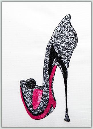 Ebony Shoe 55