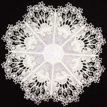 Doilies taken from bowls