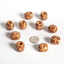 Wood Beads & Buttons