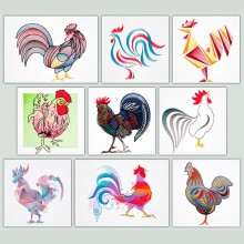 Birds - Roosters