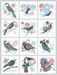 BFC1218 Decorative Elements Series Filled Birds
