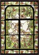 BFC1631 Art Nouveau Winter Stained Glass