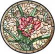BFC1755 Stained Glass Circles and Frames - 07