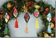 BFC0915 Stained Glass Christmas Ornaments