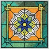 BFC30663 BFC1021 Stained Glass Tiles - 04