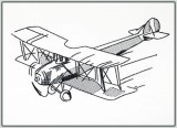 BFC1453 Blackwork-Vintage Aviation