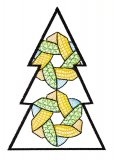 BFC1618 Patchwork Christmas Trees 06