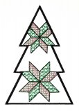 BFC1618 Patchwork Christmas Trees 10