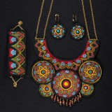 BFC1677 Dramatic Necklace Set
