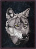 BFC1679 Large Wolf Portrait