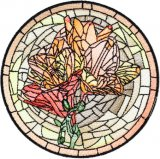BFC1755 Stained Glass Circles and Frames - 03