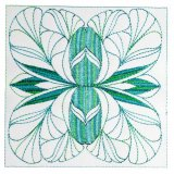 Art Nouveau Ornamental Quilt Blocks 1&2