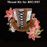 BFC1937 Steampunk Hat and Flowers Thread Kit