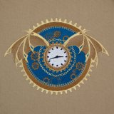 BFC1999 Steampunk Winged Clock