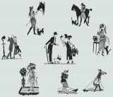 BFC0423 Silhouettes From The 20s I