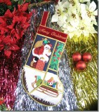 BFC0583 Quilt in the Hoop Christmas Stocking I