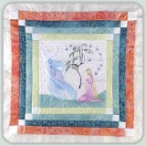 BFC0791 Block 2 of 12 Fairy Land Quilt - The New Fairy