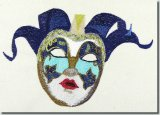 BFC0895 Three Dance Masks II