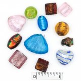 Assorted Lampwork Beads - Assorted Colors