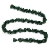 Dark Green Chenille