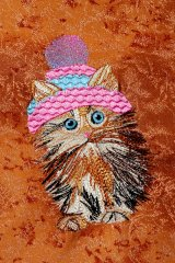 Tiny Cat - Knitted Cap