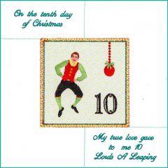 BFC1952 Tenth Day of Christmas