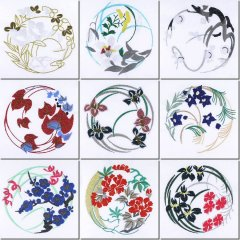 Japanese Quilt Circles Combo