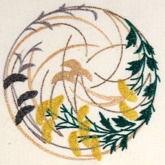 BFC1006 JAPANESE QUILT CIRCLES II - 02