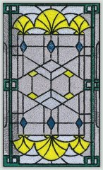 BFC30660 BFC1021 Stained Glass Tiles - 01