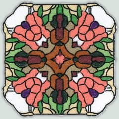 BFC30662 BFC1021 Stained Glass Tiles - 03