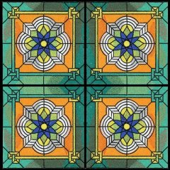 BFC1021 Stained Glass Tiles