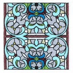 BFC30665 BFC1025 Stained Glass Tiles II - 02