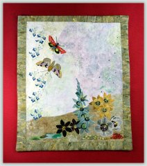 BFC1108 Wildflowers Art Quilt