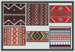 BFC1115 Native American Textile Art